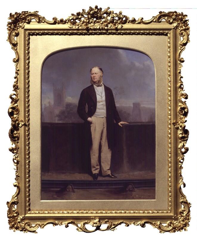 Unknown man, formerly known as Sir John Fowler, 1st Bt, by John Jabez Edwin Mayall, circa 1865 - NPG P326 - © National Portrait Gallery, London