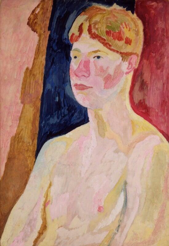 David Garnett, by Vanessa Bell (née Stephen), 1915 - NPG 6046 - © National Portrait Gallery, London