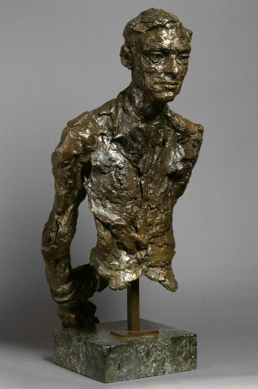 David Emery Gascoyne, by Gertrude Hermes, 1956 - NPG 5971 - Photograph © National Portrait Gallery, London