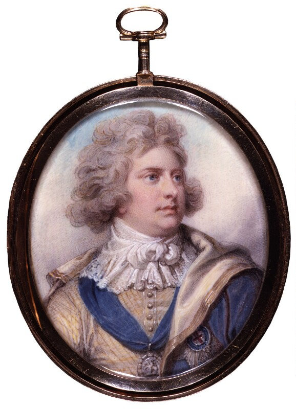 King George IV, by Richard Cosway, 1792 -NPG 5389 - © National Portrait Gallery, London