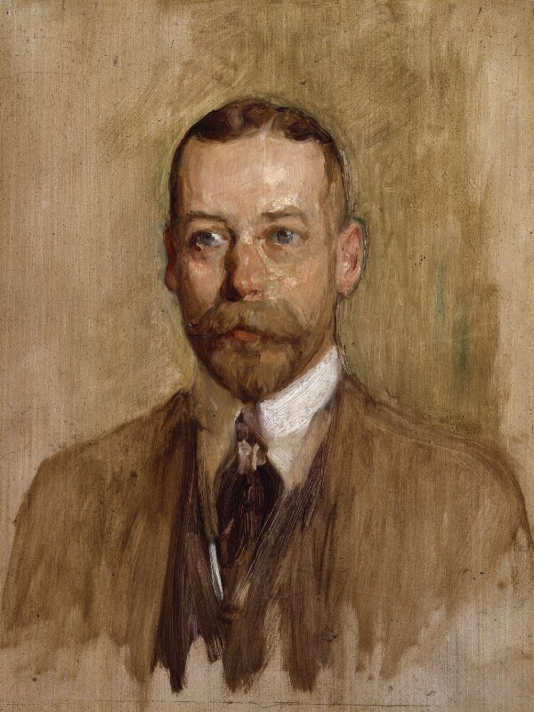 King George V, by Solomon Joseph Solomon, 1914 - NPG 5423 - © National Portrait Gallery, London