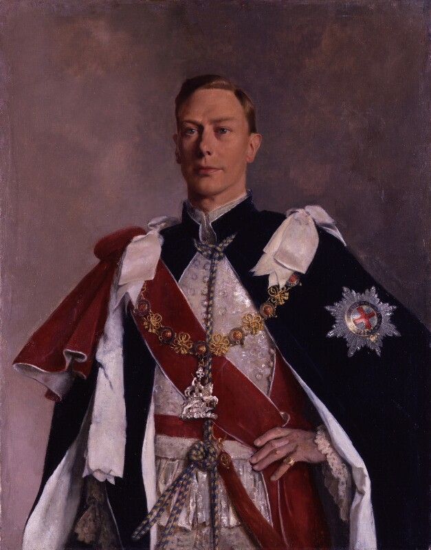King George VI, by Sir Gerald Kelly, circa 1941 - NPG 5286 - © reserved; collection National Portrait Gallery, London
