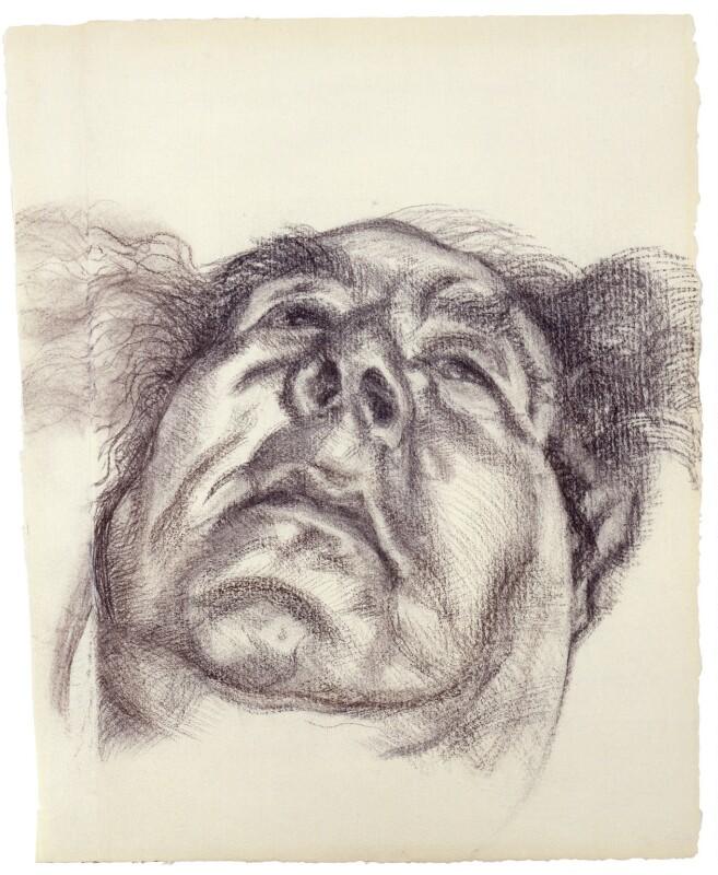 Arnold Abraham Goodman, Baron Goodman, by Lucian Freud, 1985 - NPG 5849 - © The Lucian Freud Archive / Bridgeman Art Library