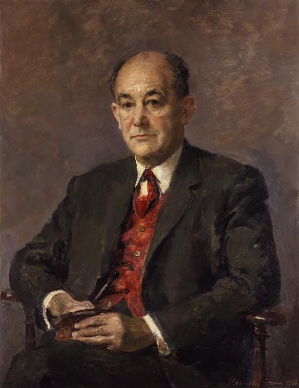 Patrick Chrestien Gordon Walker, Baron Gordon-Walker, by Kenneth Green, 1966 - NPG 5531 - © National Portrait Gallery, London