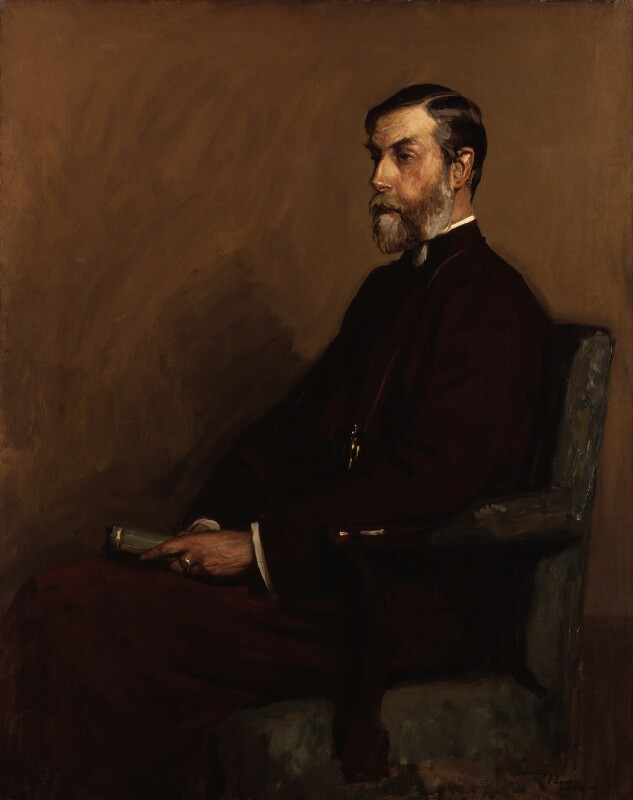 Charles Gore, by Sir John Lavery, 1905 - NPG 5526 - © National Portrait Gallery, London