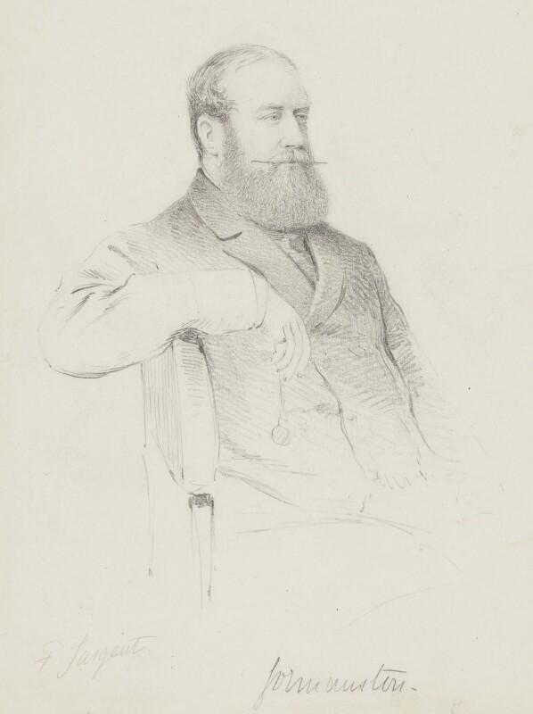 Jenico William Joseph Preston, 14th Viscount Gormanston, by Frederick Sargent, 1880s? - NPG 5652 - © National Portrait Gallery, London