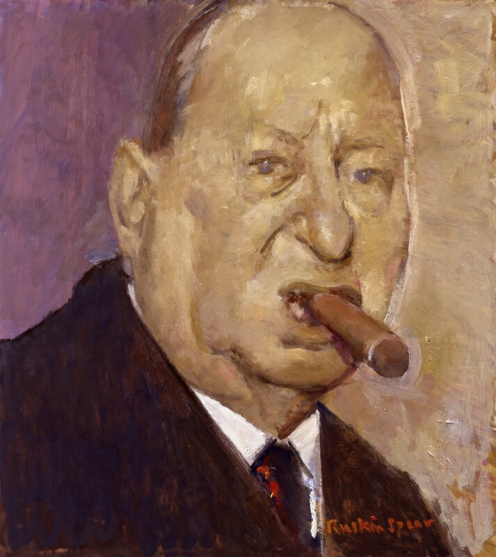 Lew Grade, Baron Grade, by Ruskin Spear, exhibited 1988 - NPG 6062 - © National Portrait Gallery, London