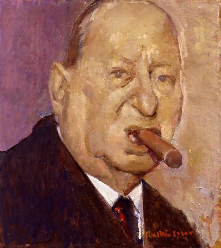 Lew Grade, Baron Grade, by Ruskin Spear, exhibited 1988 - NPG 6062 - © National Portrait Gallery, London