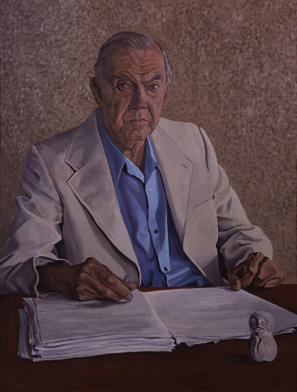 Graham Greene, by Anthony Palliser, 1981-1983 - NPG 5574 - © Anthony Palliser