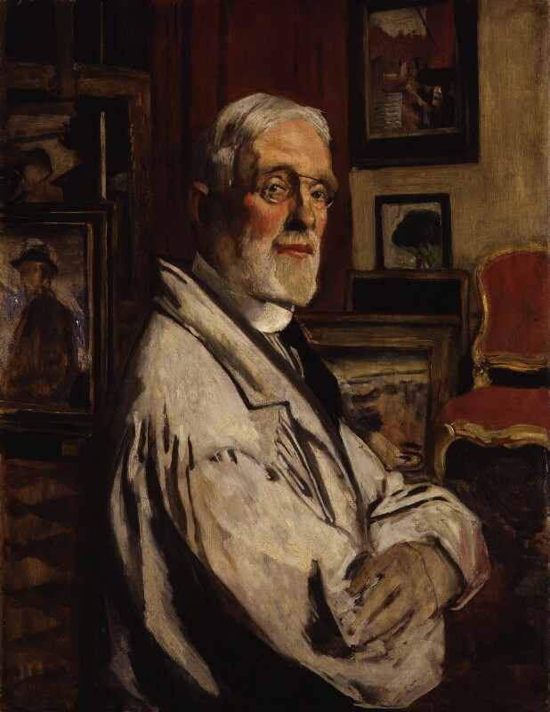 Maurice William Greiffenhagen, by Maurice William Greiffenhagen, 1920s - NPG 5432 - © National Portrait Gallery, London