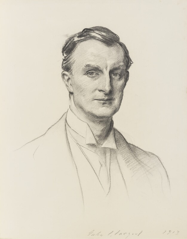 Edward Grey, 1st Viscount Grey of Fallodon, by John Singer Sargent, 1913 - NPG 5525 - © National Portrait Gallery, London