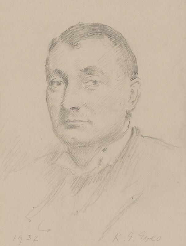 Sir Henry Hake, by Reginald Grenville Eves, 1932 - NPG 5510 - © National Portrait Gallery, London