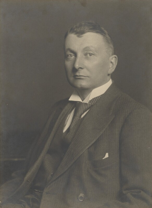 Sir Henry Hake, by James Russell & Sons, circa 1932 - NPG P211 - © National Portrait Gallery, London