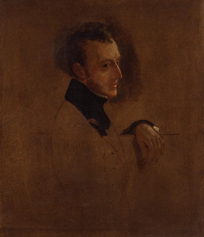Charles Wood, 1st Viscount Halifax, by Sir George Hayter, 1833-1843 - NPG 5580 - © National Portrait Gallery, London