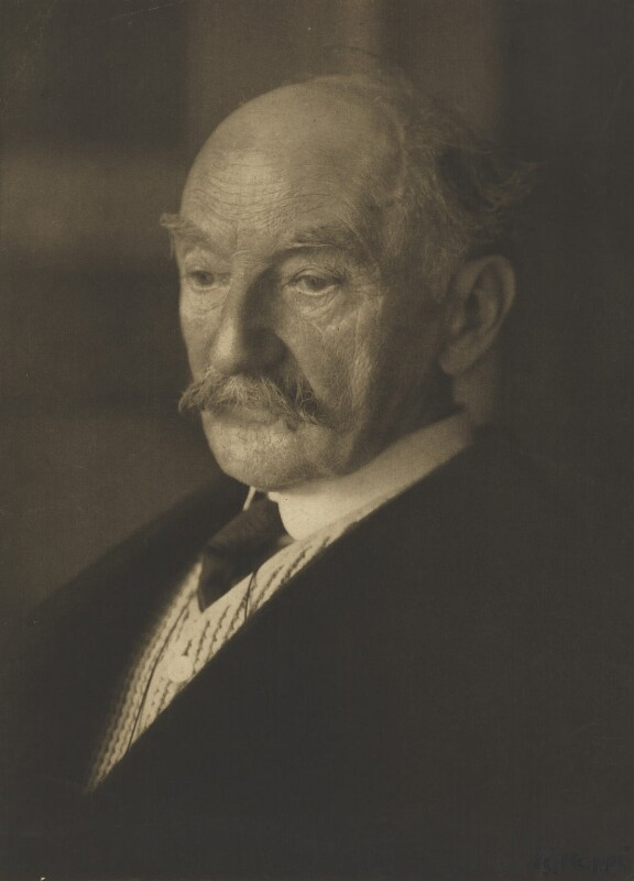 Thomas Hardy, by Emil Otto ('E.O.') Hoppé, 1914 - NPG P310 - © 2017 E.O. Hoppé Estate Collection / Curatorial Assistance Inc.