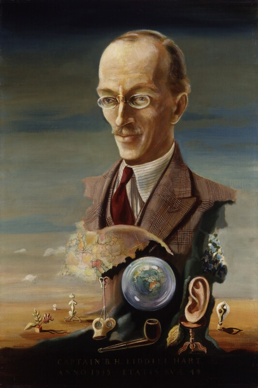 Sir Basil Henry Liddell Hart, by Hein Heckroth, 1939 - NPG 5907 - © National Portrait Gallery, London