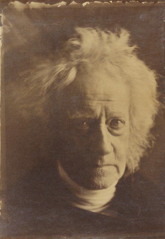 Sir John Frederick William Herschel, 1st Bt, by Julia Margaret Cameron, 1867 - NPG P201 - © National Portrait Gallery, London
