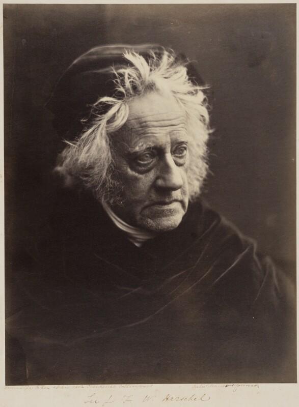 Sir John Frederick William Herschel, 1st Bt, by Julia Margaret Cameron, 1867 - NPG P213 - © National Portrait Gallery, London