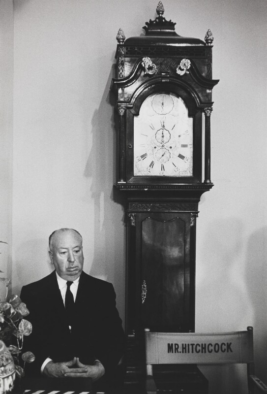 Alfred Hitchcock, by Bob Willoughby, 1964 - NPG P138 - © Bob Willoughby 1964