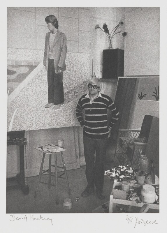 David Hockney, by John Hedgecoe, 1971 - NPG P160 - © John Hedgecoe / Topfoto