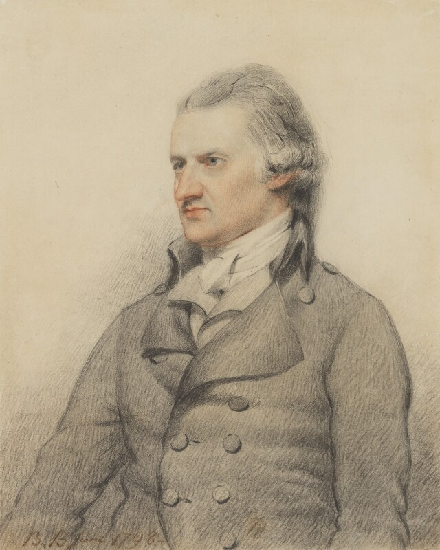William Holwell-Carr, by Benjamin Burnell, 1798 - NPG 5809 - © National Portrait Gallery, London