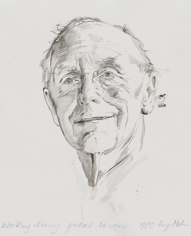 Alec Douglas-Home, by Suzi Malin, 1980 - NPG 5383 - © National Portrait Gallery, London