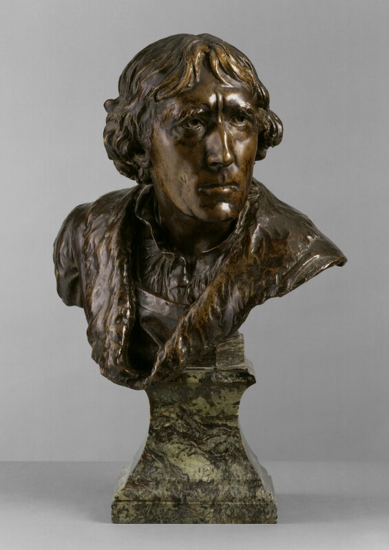 Sir Henry Irving, by (Edward) Onslow Ford, circa 1906-1907, based on a work of circa 1883-1884 -NPG 5689 - © National Portrait Gallery, London