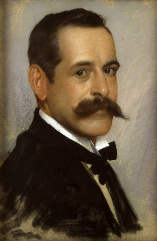 George Percy Jacomb-Hood, by George Percy Jacomb-Hood,  -NPG 6083 - © National Portrait Gallery, London