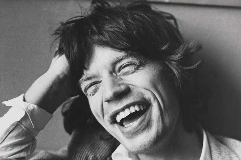 Mick Jagger, by Jane Bown, 5 October 1977 - NPG P376 - © Jane Bown