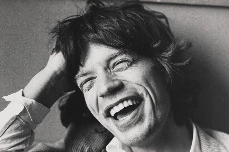 Mick Jagger, by Jane Bown, 5 October 1977 - NPG P376 - © Jane Bown