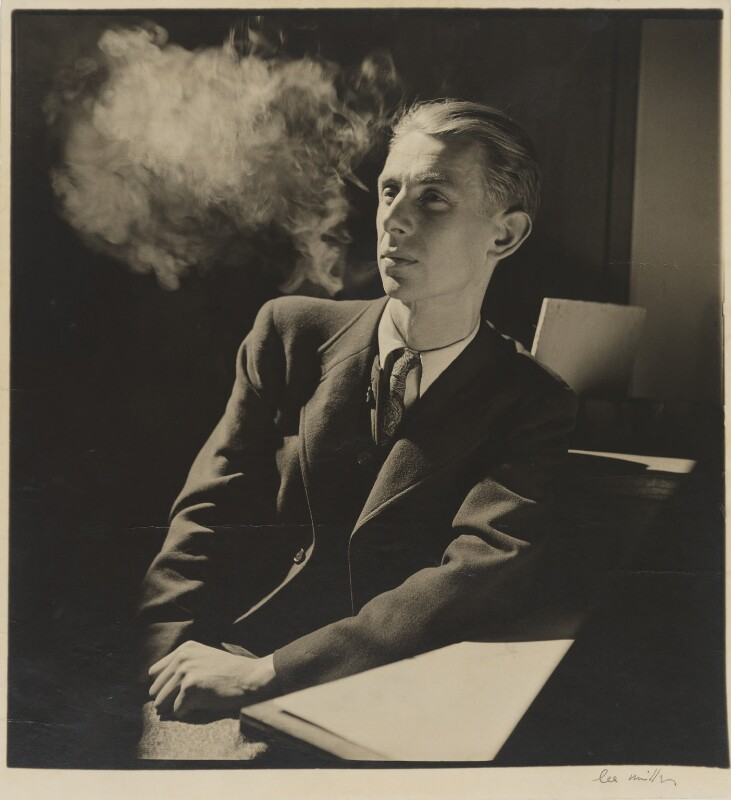 Humphrey Jennings, by Lee Miller, 1942 - NPG P156 - © reserved; collection National Portrait Gallery, London