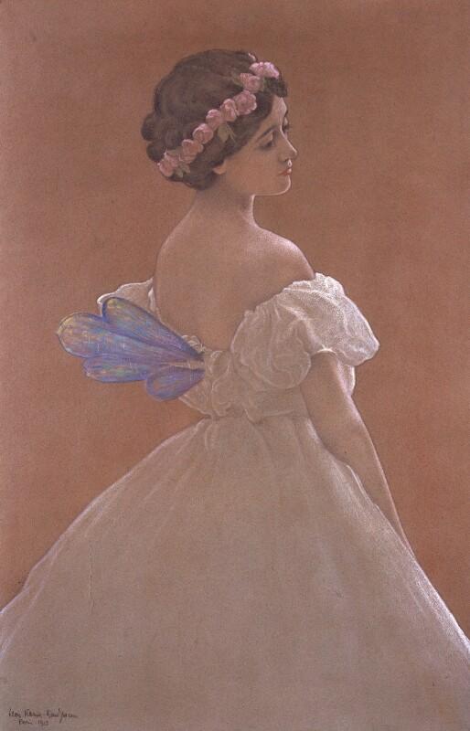 Tamara Karsavina, by Leon Kamir-Kaufman, 1913 - NPG 5347 - © National Portrait Gallery, London