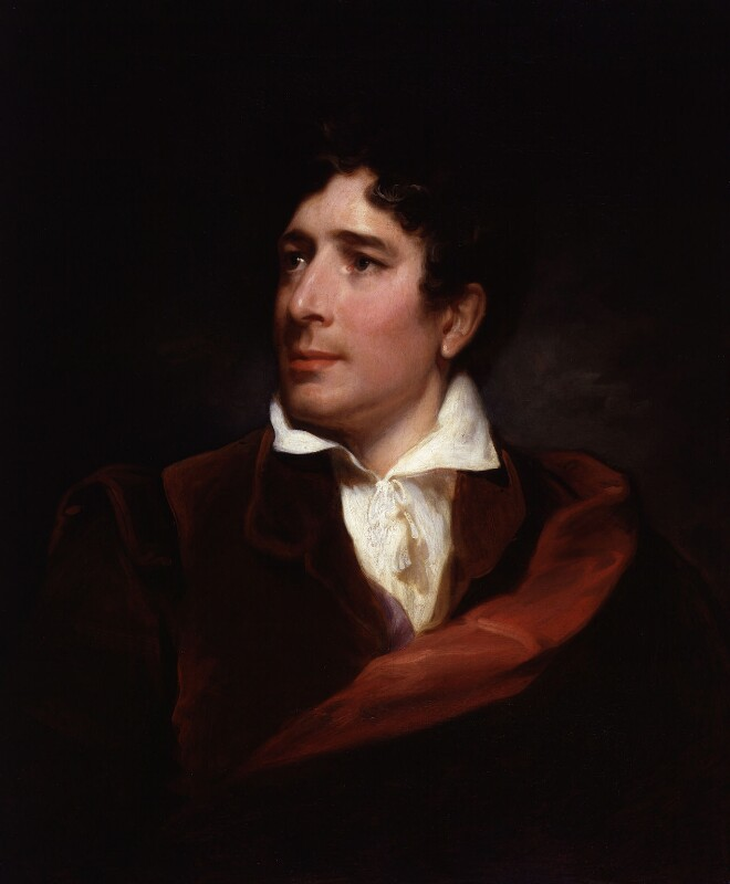 Charles Kemble, by Henry Perronet Briggs, 1830s - NPG 5687 - © National Portrait Gallery, London