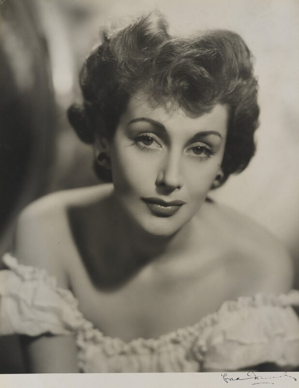 Kay Kendall, by Fred Daniels, 1949 - NPG P387 - © Estate of Fred Daniels / National Portrait Gallery, London