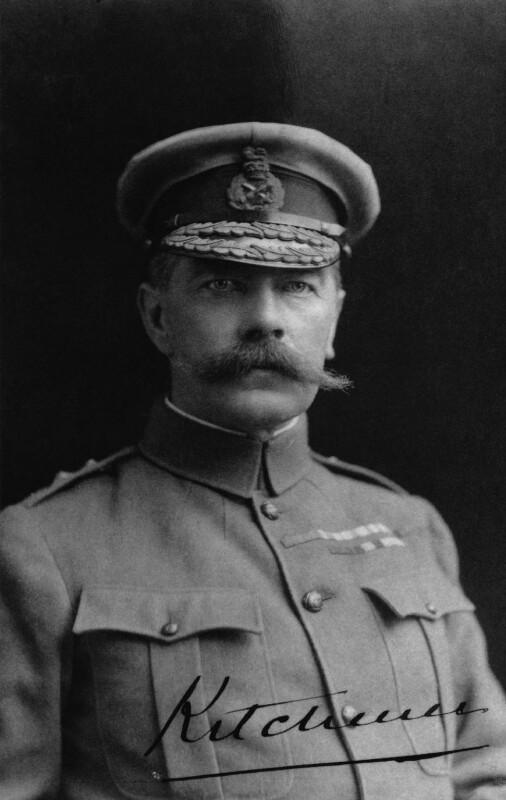 Herbert Kitchener, 1st Earl Kitchener, by Duffus Bros, 1901 - NPG P403 - © National Portrait Gallery, London