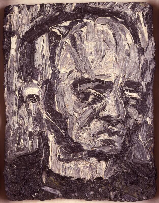 Leon Kossoff, by Leon Kossoff, 1981 - NPG 5772 - © National Portrait Gallery, London