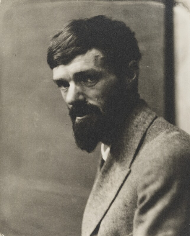 D.H. Lawrence, by Nickolas Muray, 1923 - NPG P208 - © National Portrait Gallery, London