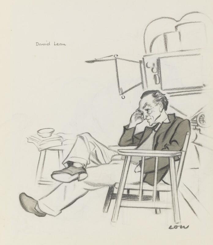 David Lean, by Sir David Low, 1949 or before - NPG 5769 - © Solo Syndication Ltd