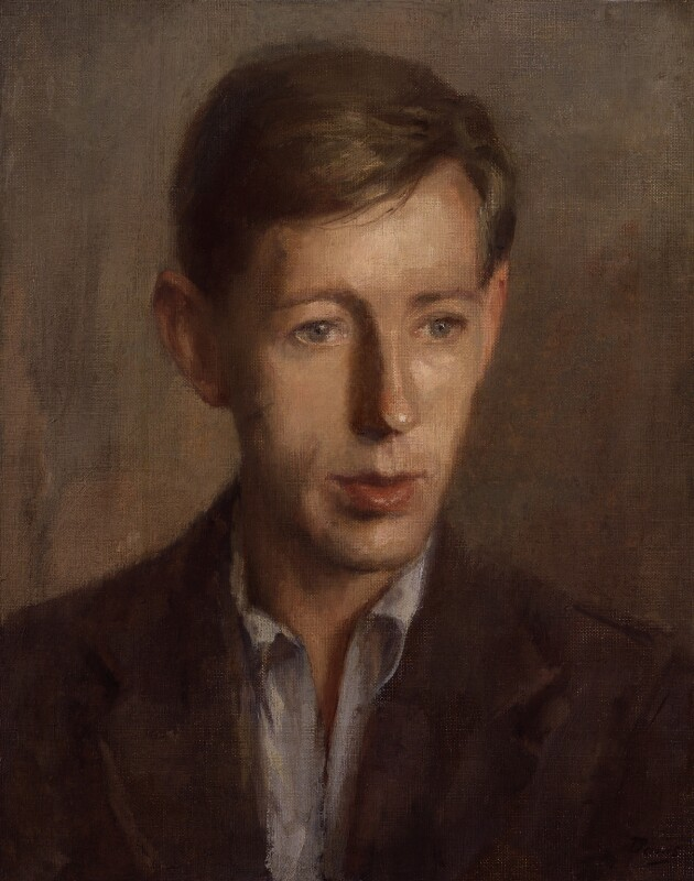 Laurie Lee, by Anthony Devas, 1944 - NPG 6726 - © Prosper Devas & Associates