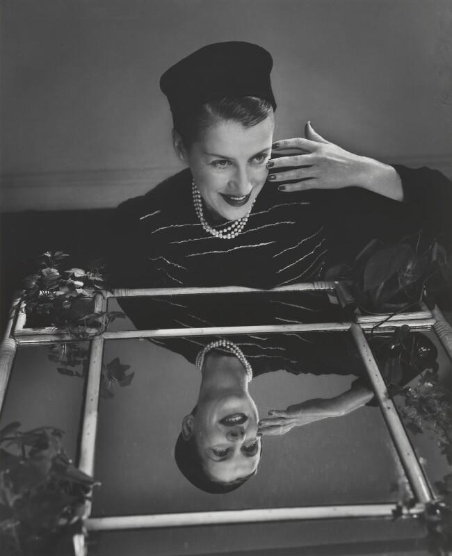 Beatrice Gladys Lillie (Lady Peel), by Yousuf Karsh, 1948 - NPG P248 - © Karsh / Camera Press