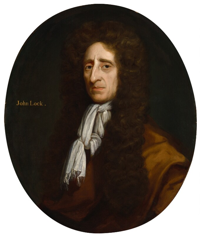 John Locke, by Michael Dahl, 1696 - NPG 5385 - © National Portrait Gallery, London