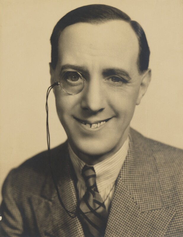 Ralph Lynn, by Fred Daniels, 1932 - NPG P389 - © Estate of Fred Daniels / National Portrait Gallery, London