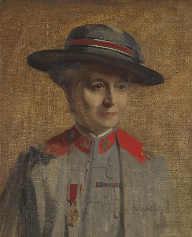 Dame (Emma) Maud McCarthy, by Francis Owen ('Frank') Salisbury, 1917 - NPG 5831 - © National Portrait Gallery, London