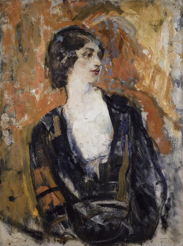 Lillah McCarthy, by Ambrose McEvoy, 1919 - NPG 5506 - © National Portrait Gallery, London