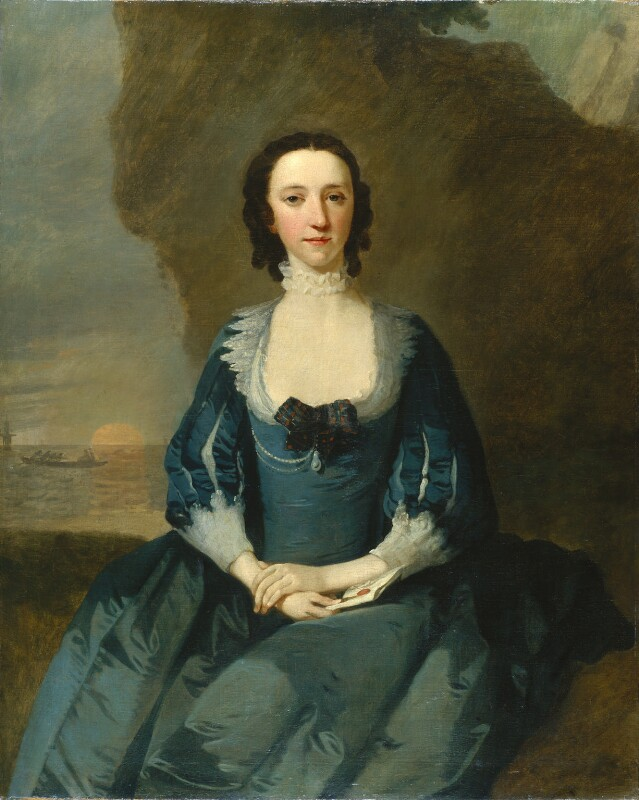 Flora Macdonald, by Richard Wilson, 1747 - NPG 5848 - © National Portrait Gallery, London