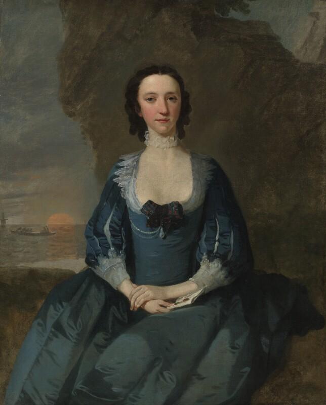 Flora Macdonald, by Richard Wilson, 1747 - NPG 5848 - © National Portrait Gallery, London