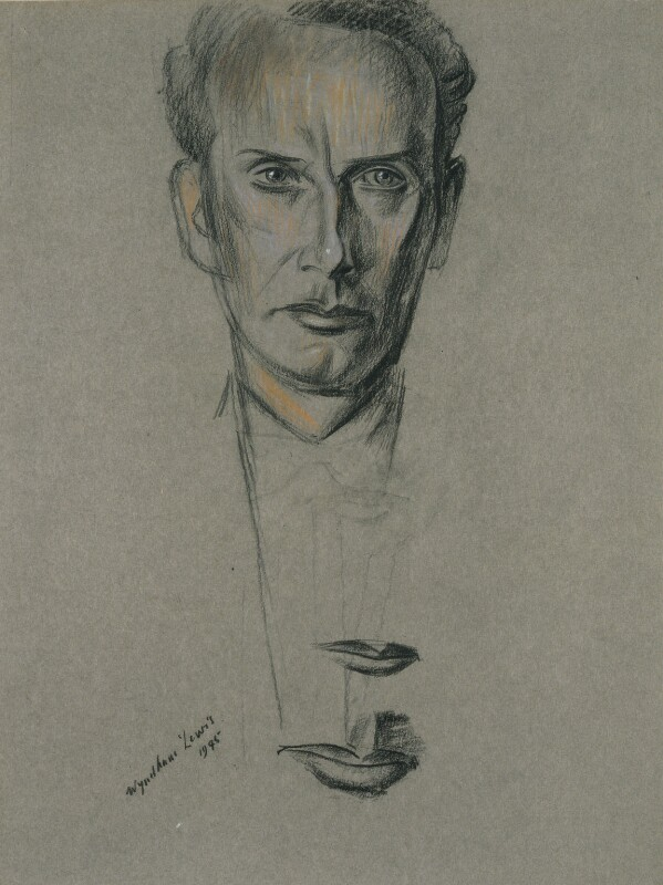Malcolm John MacDonald, by Wyndham Lewis, 1945 - NPG 5739 - © Wyndham Lewis and the estate of the late Mrs G A Wyndham Lewis by kind permission of the Wyndham Lewis Memorial Trust (a registered charity)