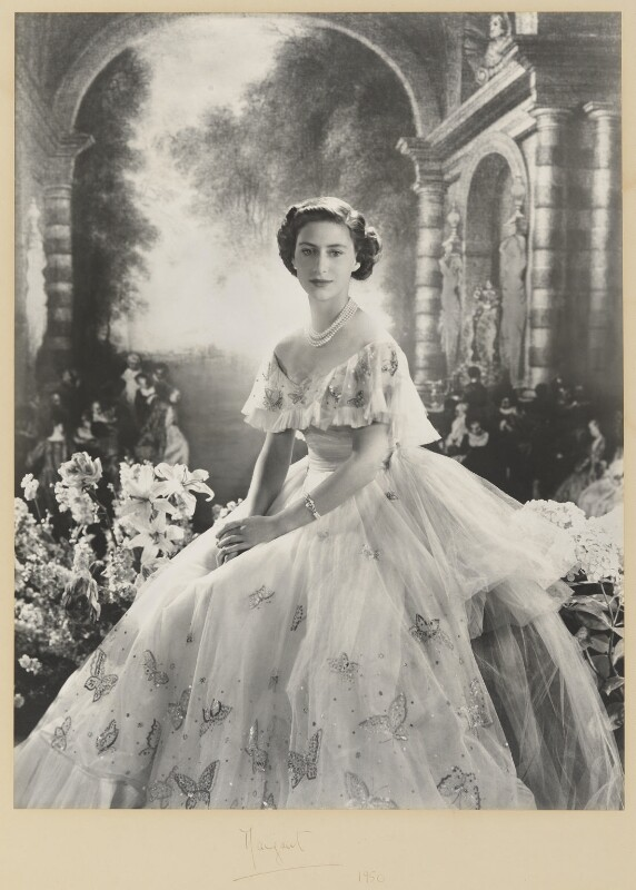 Princess Margaret, by Cecil Beaton, 1950 - NPG P349 - © V&A Images
