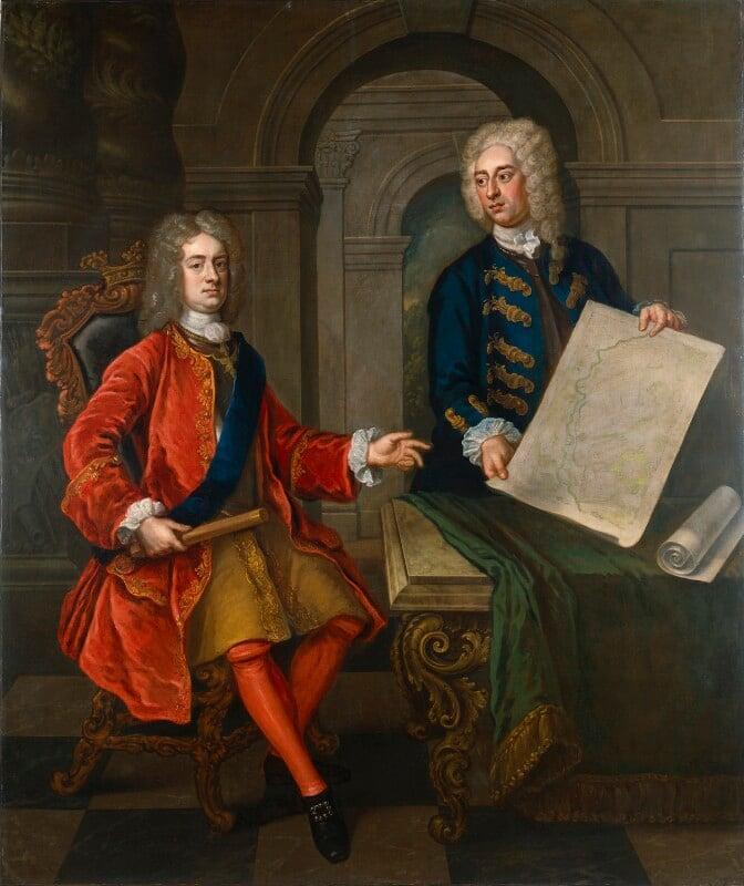 John Churchill, 1st Duke of Marlborough; John Armstrong, after Enoch Seeman, circa 1720? - NPG 5318 - © National Portrait Gallery, London
