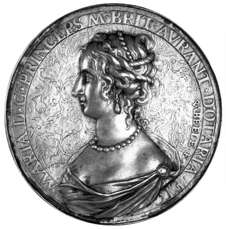 Mary, Princess of Orange, by Peter Van Abeele, 1654 - NPG 6075 - © National Portrait Gallery, London